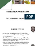 CONSERVACION POR ALTAS TEMPERATURAS