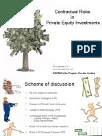 Contractual Risks in PE Invsts - Dr[1]. Kishore - PRMIA