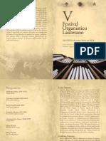 Festival-Organistico - Programma Di Sala Lugano 9.12