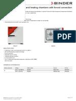 Data Sheet Model FD 023 en