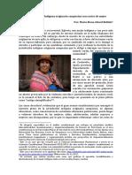 La Jurisdiccioìn Indiìgena originario campesina con rostro de mujer para envio