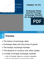 TOPIC 3 - Exchange Rates and the Foreign Exchange Market-An Asset Approach