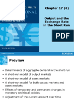 Topic 6 - Output and the Exchange Rate in the Short Run