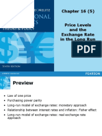 TOPIC 5 - Price Levels and the Exchange Rate in the Long Run