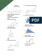 Diberikan dua buah persegipanjang ABCD dan persegipanjang PQRS seperti gambar berikut