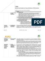 FAQ on RSPO Management System Requirements and Guidance for Group Certification of FFB-English