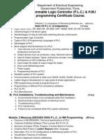 PLC Curriculum