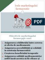 Obiectivele marketingului farmaceutic