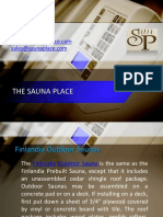 finlandia outdoor saunas from the sauna place