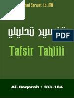 Tafsir Tahlili