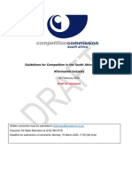 Competition commission vehicle repair guidelines