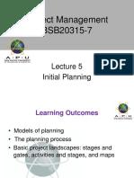 Project Management APU Lec 5
