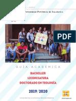 Guia Teologia UPSA 2019 -2020.