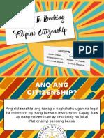 Grounds In Revoking Filipino Citizenship
