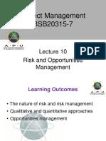 Project Management APU Lec 10