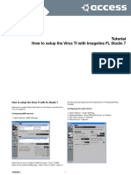 Imageline FL Studio Tututorial