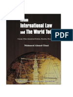 Islam International Law and the World