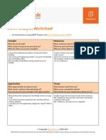 SWOTAnalysisWorksheet