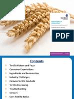 Tortilla Processing Parameters - Desiderio