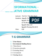 T-G grammar