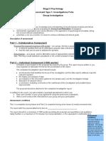 group investigation task sheet