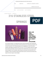 316 Stainless Steel Springs & Clips _ M & S Spring Company, Inc_