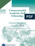 Prospectus Fellowships 2011