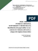 Lectura 10 Fuerzas Armadas subversión y democracia