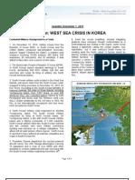 NCEKW Factsheet-West Sea Crisis in Korea-2010!12!01