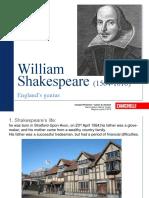 William Shakesepare Biography