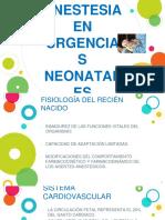 ANESTESIA EN URGENCIAS NEONATALES.pptx