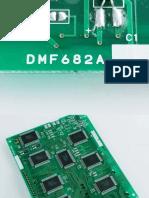 KYOCERA DMF682A LCD DMF682A tektronix