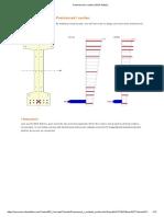 Prestressed I section _ IDEA StatiCa