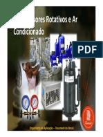 Compressores Rotativos e Condicionador de ar Tecunseh