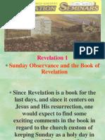 Revelation-Seminars-Sunday-Observance-and-the-Book-of-Revelation.ppt