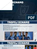 Trofej Dinamo Prezentacija