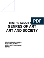 Truths, Genres of Art, Art and Society