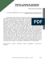 2018_Revista Econtros Universitários_EDUCAÇÃO AMBIENTAL E ENSINO DE GEOGRAFIA-resumo