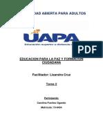TAREA 2 EDUCACIÓN PARA LA PAZ