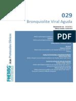 029 - Bronquiolites Viroticas na Infancia - 2019