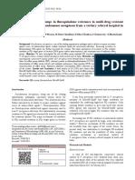 fluroquinolon resisten