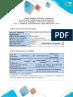 Guía de actividades y rúbrica de evaluación - Fase 1 - Realizar reconocimiento y pre saberes  del curso (1).docx