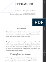 2. GRIT CHAMBER AND SEDIMENTATION TANK