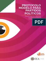 PROTOCOLO MODELO PP OEA