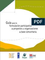 Guía para formulación participativa de proyectos comunitarios.pdf