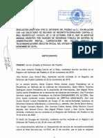 Resolución del Defensor del Pueblo sobre el  RDL 14-2019 ('Decretazo Digital')