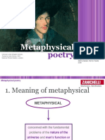 Metaphysical poetry.ppt