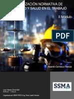 Segundo Mòdulo - Actualizaciòn Normativa de Seguridad y Salud en el Trabajo