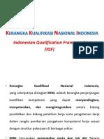 PRESENTASI KERANGKA KUALIFIKASI NASIONAL INDONESIA