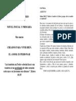 DEVOCIONAL DIARIO primaria marzo 2019